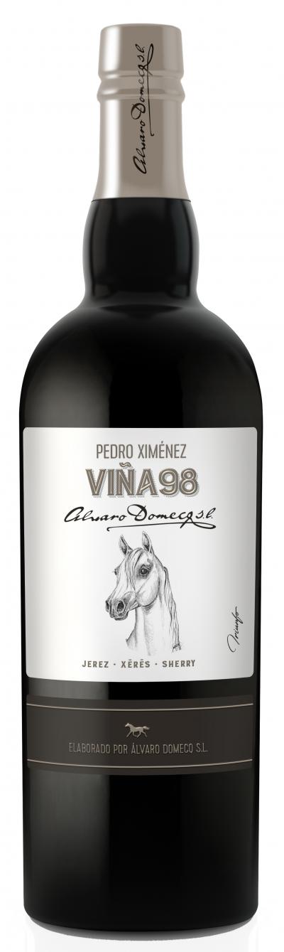 packshot Alvaro Domecq Viña 98 Pedro Ximenez